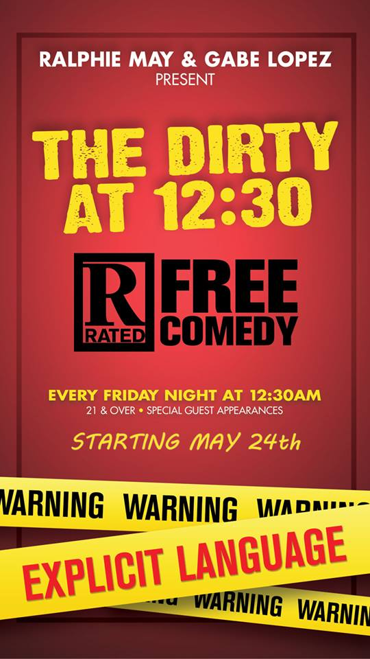 The Dirty at 1230 Comedy Show
